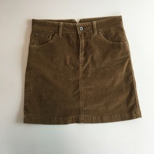 Gap Jeans Corduroy skirt